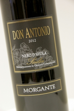 Morgante, Nero d`Avola Don Antonio IGT 2012