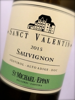 St. Michael Eppan, Sauvignon Sanct Valentin 2015