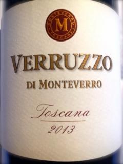 Monteverro, Verruzzo 2013