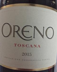 Oreno Rosso Toskana IGT 2015
