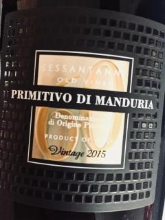 San Marzano, Sessantanni 60 anni, Primitivo di Manduria 2015