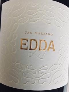San Marzano, Edda Bianco Salento IGP 2017