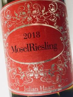 Julian Haart, Mosel Riesling 2018