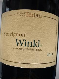 Kellerei Terlan, Sauvignon Winkl 2019