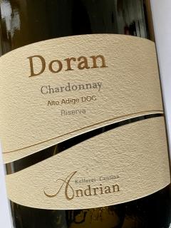 Kellerei Andrian, Chardonnay Riserva Doran 2017