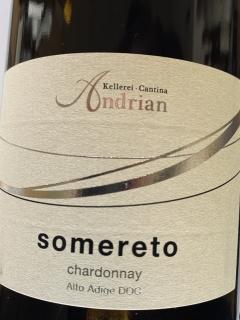 Kellerei Andrian, Chardonnay Somereto 2019