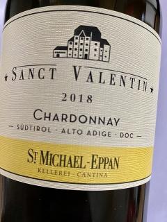 St. Michael Eppan, Chardonnay Sanct Valentin 2018