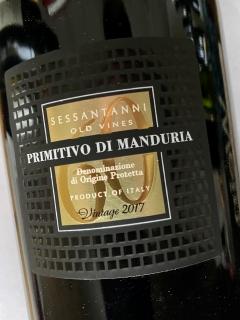 San Marzano, Sessantanni 60 anni, Primitivo di Manduria 2017
