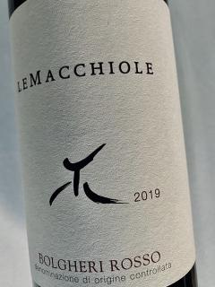Le Macchiole, Bolgheri Rosso IGT 2019