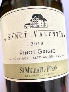 St. Michael Eppan, Pinot Grigio Sanct Valentin 2019