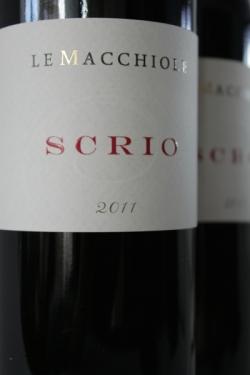 Le Macchiole, Scrio 2011