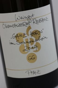 Ökonomierat Rebholz, Ganz Horn-Im Sonnenschein GG 2014