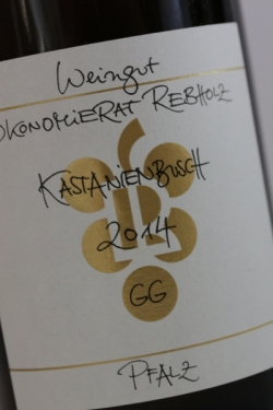 Ökonomierat Rebholz, Kastanienbusch Riesling GG 2014