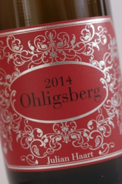 Julian Haart, Wintricher Ohligsberg Grand Cru 2014