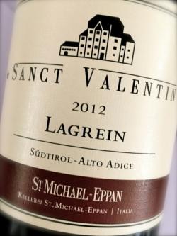 St. Michael Eppan, Lagrein Sanct Valentin 2012