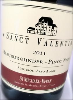St. Michael Eppan, Pinot Nero Sanct Valentin 2011