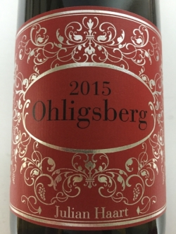 Julian Haart, Wintricher Ohligsberg Grand Cru 2015