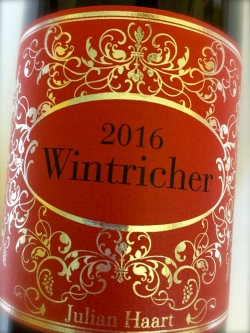 Julian Haart, Wintricher Riesling 2016