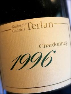 Kellerei Terlan, Chardonnay Rarität 1996