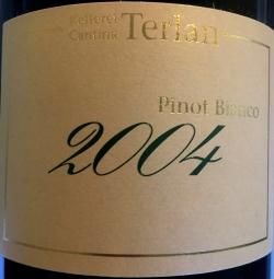 Kellerei Terlan, Pinot Bianco Rarität 2004