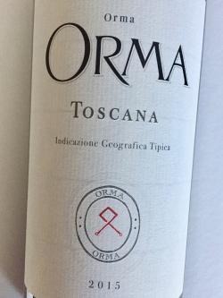Orma Toskana Rosso IGT 2015