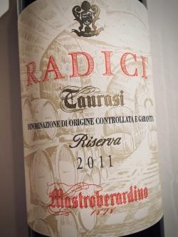 Mastroberadino, Radici Taurasi Riserva 2011