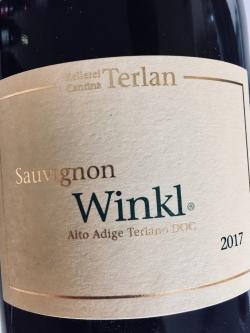 Kellerei Terlan, Sauvignon Winkl 2017