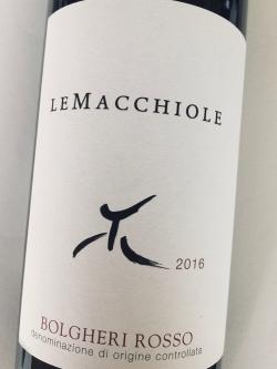 Le Macchiole, Bolgheri Rosso IGT 2016