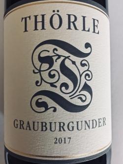 Weingut Thörle, Grauburgunder 2017