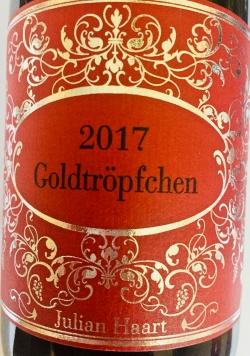 Julian Haart, Piesporter Goldtröpfchen Große Lage 2017