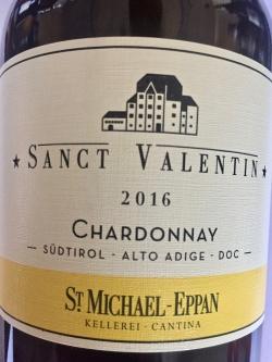 St. Michael Eppan, Chardonnay Sanct Valentin 2016