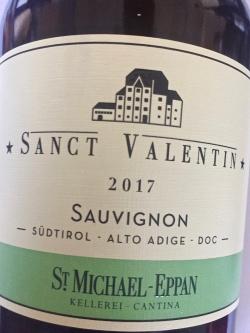 St. Michael Eppan, Sauvignon Sanct Valentin 2017
