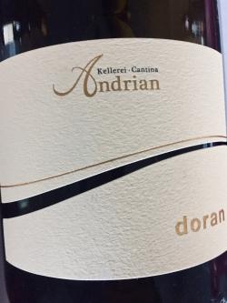 Kellerei Andrian, Chardonnay Doran 2016