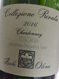 Isole e Olena, Chardonnay IGT, Collezione Privata 2016
