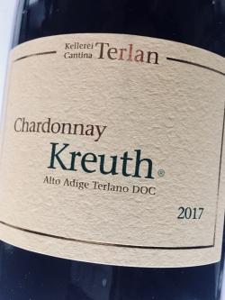 Kellerei Terlan, Chardonnay Kreuth 2017