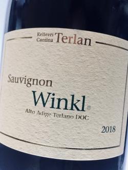 Kellerei Terlan, Suvignon Winkl 2018