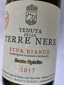 Tenuta delle Terre Nere, Santo Spirito, Etna Bianco DOC 2017 (BIO)