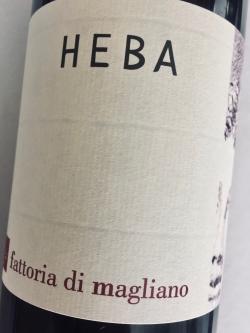 Fattoria di Magliano, Morellino di Sacansano, Heba 16 (BIO)