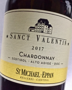 St. Michael Eppan, Chardonnay Sanct Valentin 2017