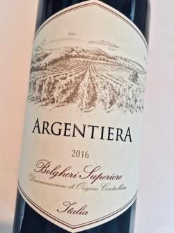 Argentiera Rosso Bolgheri Superiore DOC 2016