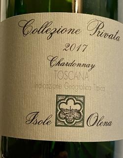Isole e Olena, Chardonnay IGT, Collezione Privata 2017