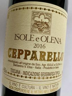 Cepparello Toskana IGT 2016