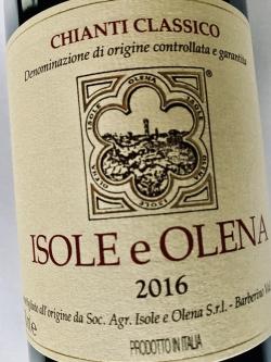 Isole e Olena, Chianti Classico 2016