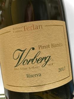 Kellerei Terlan, Weissburgunder Vorberg Riserva 2017