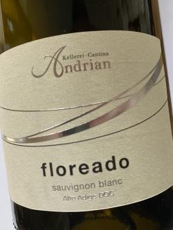 Kellerei Andrian, Floreado Sauvginon Blanc 2019