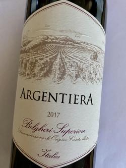Argentiera Rosso Bolgheri Superiore DOC 2017