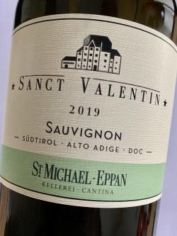St. Michael Eppan, Sauvignon Sanct Valentin 2019