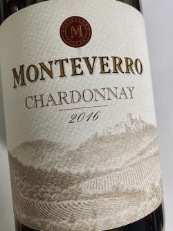 Monteverro, Chardonnay 2016
