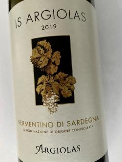 Argiolas, Is Argiolas Vermentino di Sardegna DOC 2019