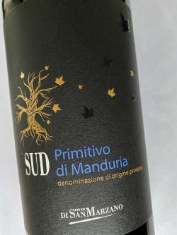 San Marzano, SUD Primitivo di Manduria 2019